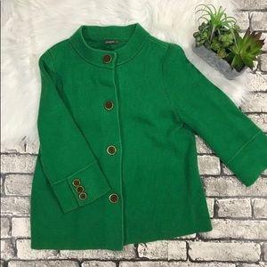 J. McLaughlin thick knit cotton sweater